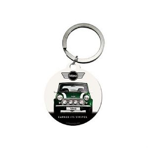 Mini Earned It's Stripes round metal keyring  Licensed (na)